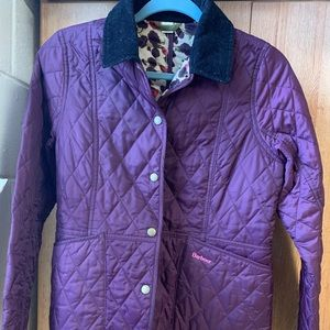 Barbour Country Cottage Purple Jacket